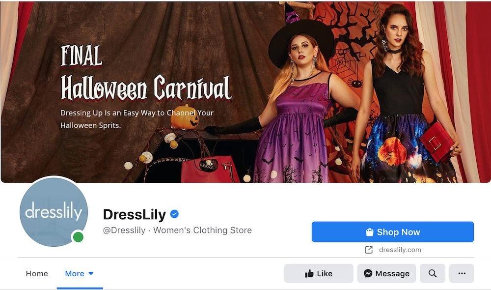 DressLily Facebook Page