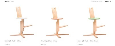 high chair unique product store example froc