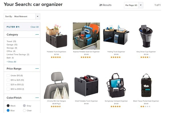 container store example