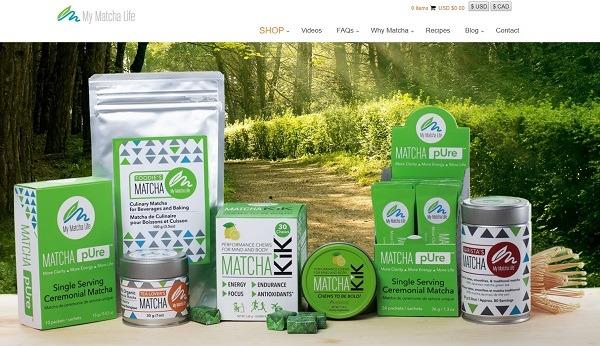 match tea store example