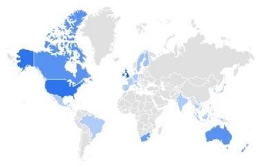 golf shoes trending per region