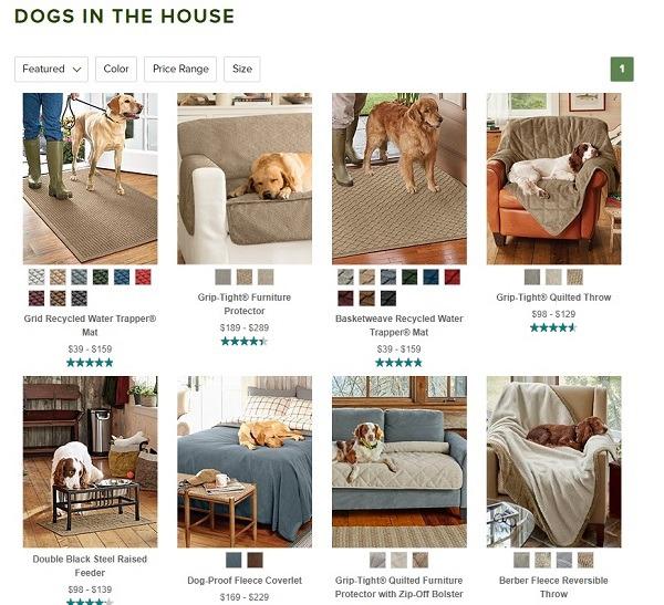 dog sofa cover store