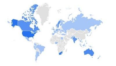athleisure google trending product per region
