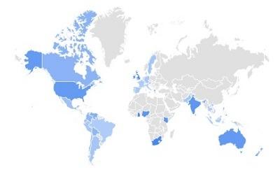 Crop top google trending product per region
