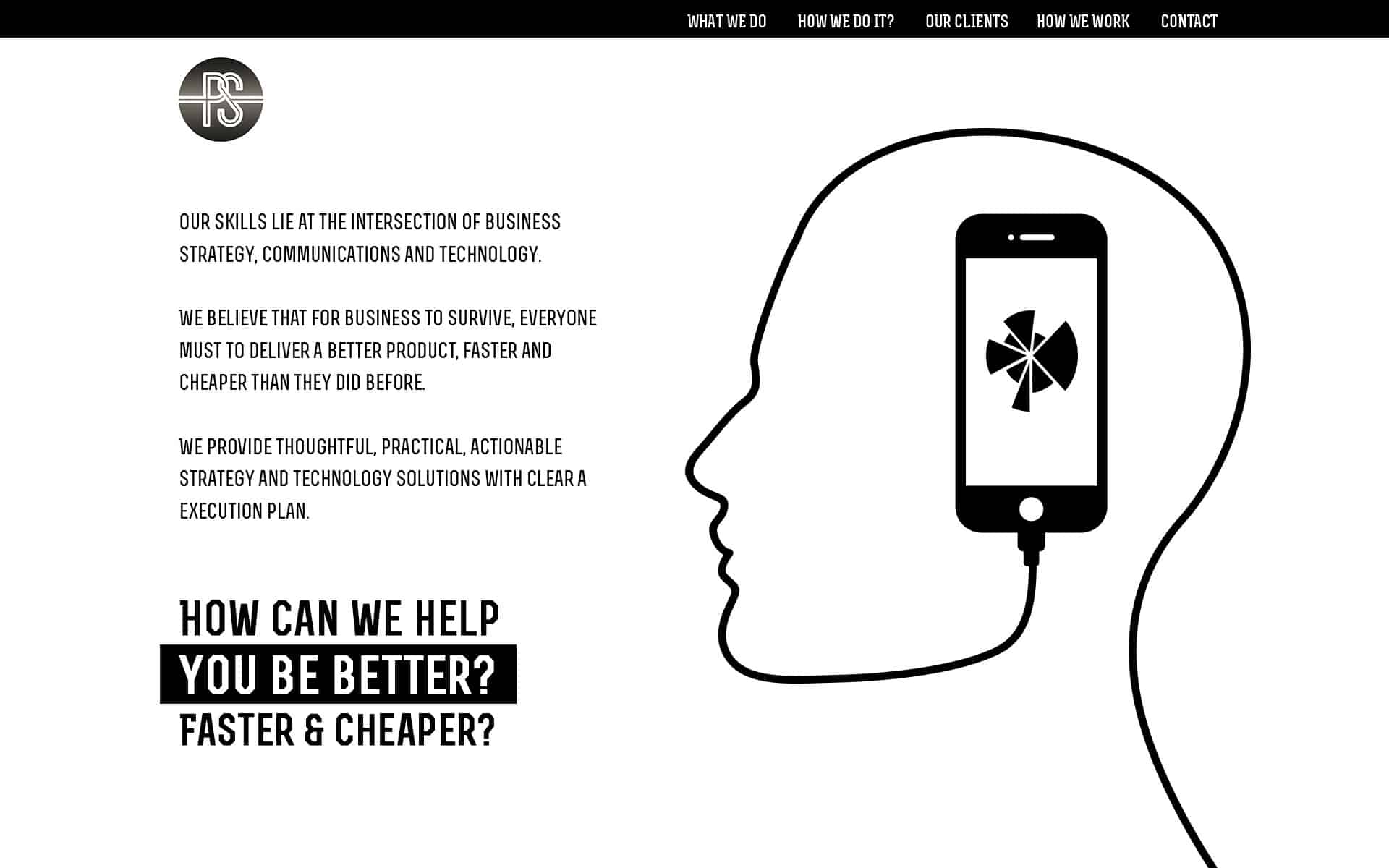 Black & White Web Design Trends