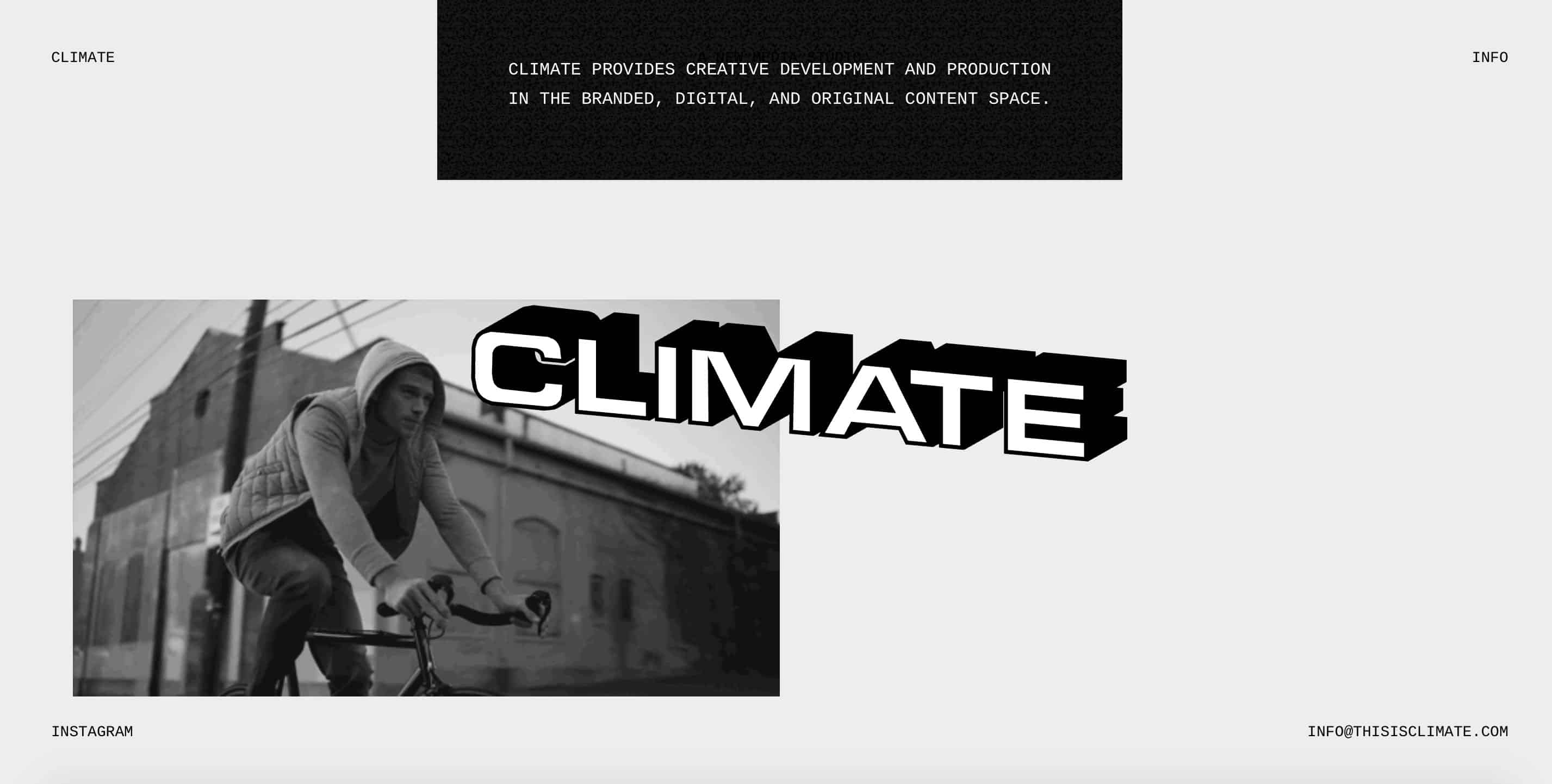 Climate Web Design Trends