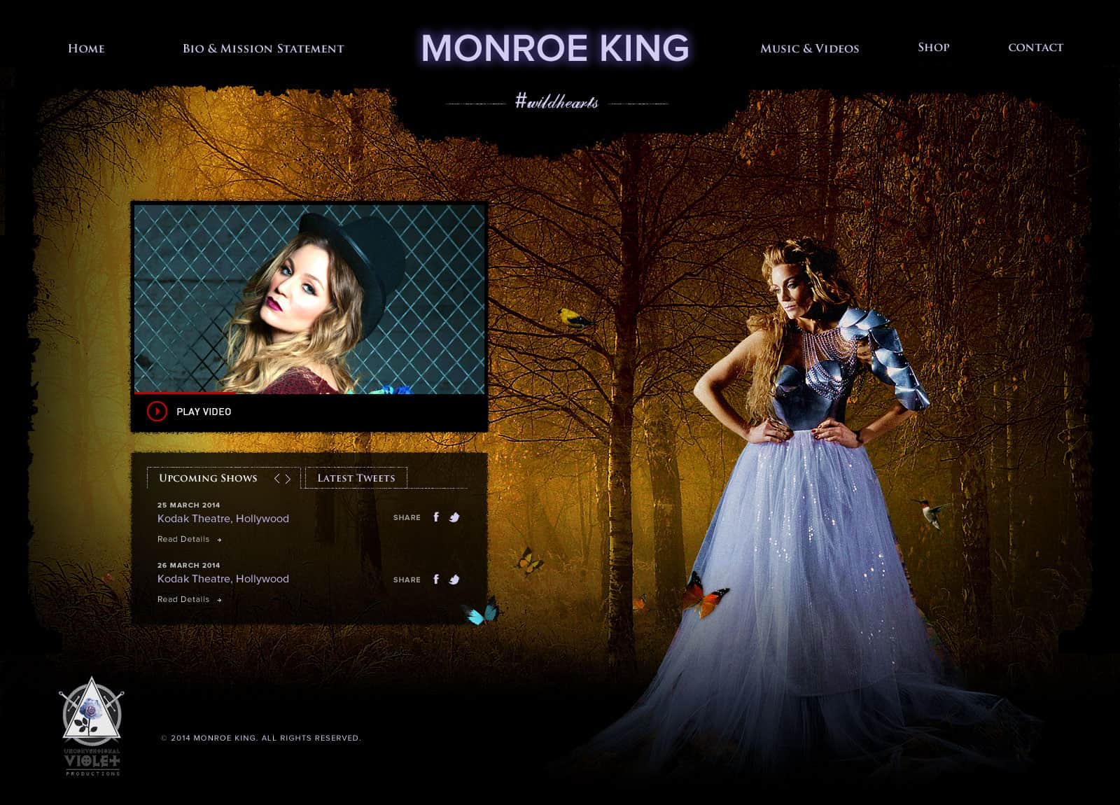 Monroe King Web Design Trends