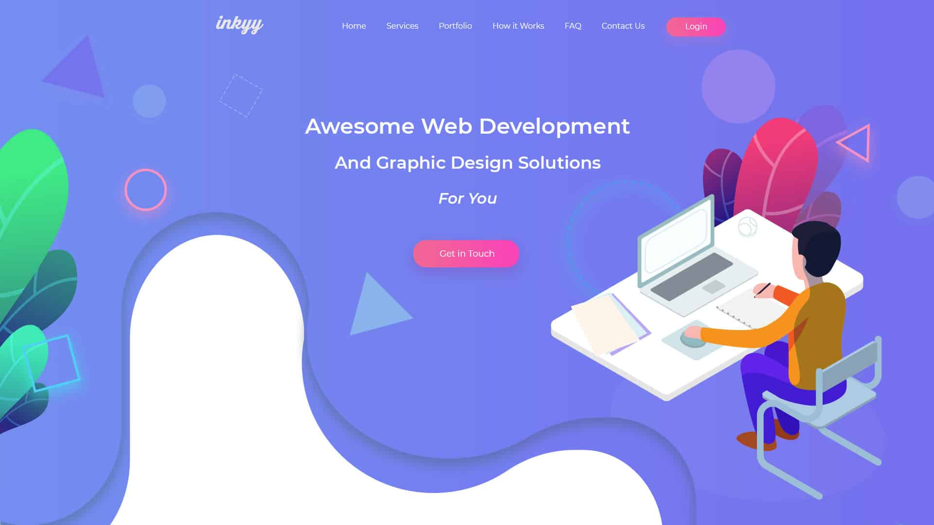 Natural Shapes Web Design Trends