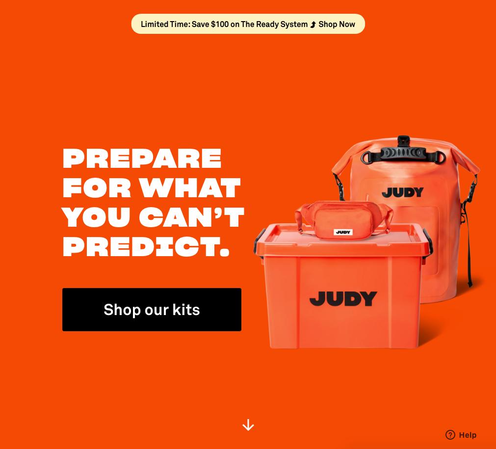 judy.co-homepage