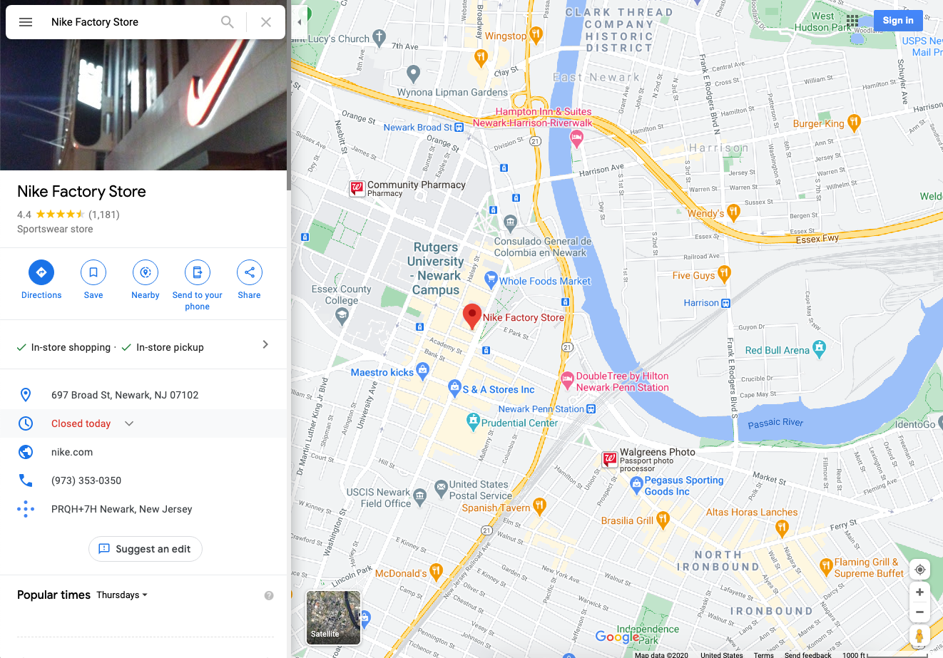 location-extension-google-maps-click