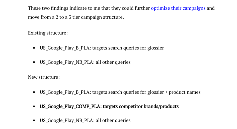 glossier-new-google-shopping-strategy