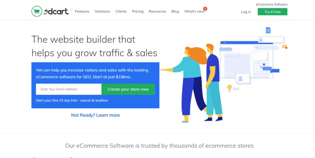 Best Ecommerce Software Of 2020 Saas Ecommerce Platform