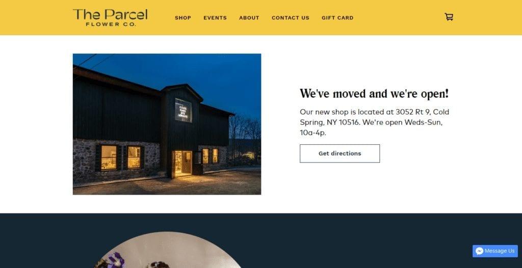 The Parcel Flower Shop