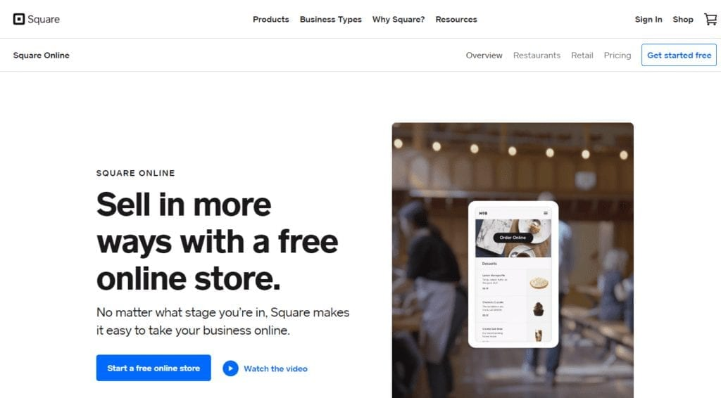 Sell in more ways with a free online store