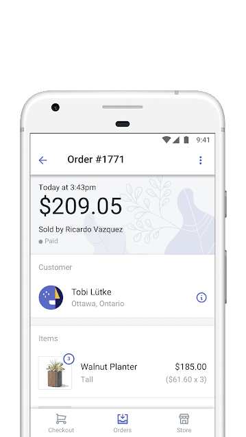 Shopify POS Mobile App Screenshot