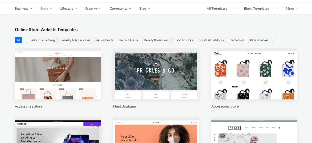Online Store Web