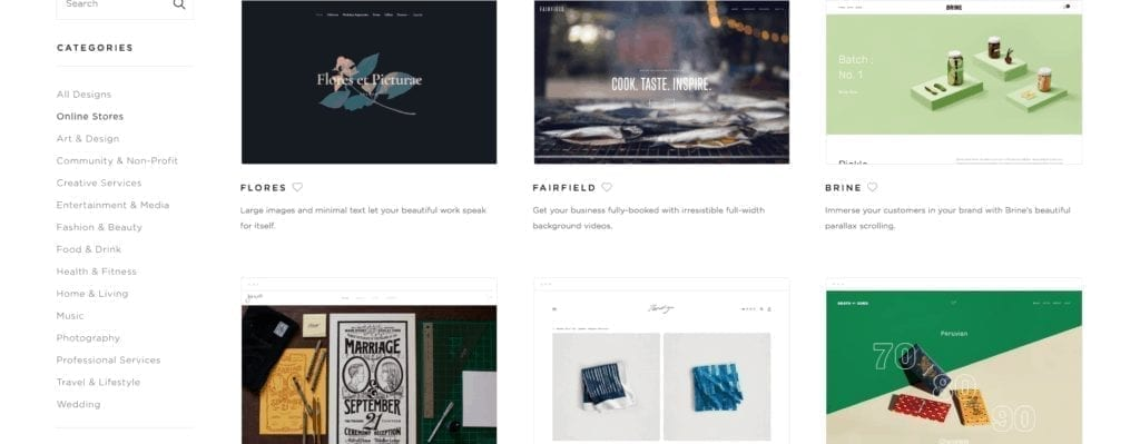 Online Store Website Templates — Squarespace Themes
