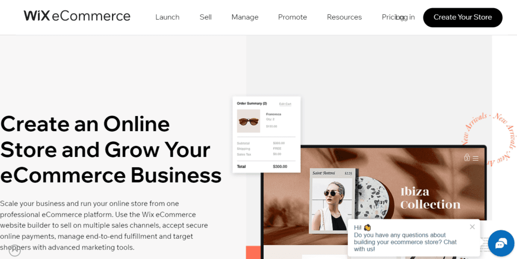 Ecommerce Website Builder Create An Online Store Wix.com