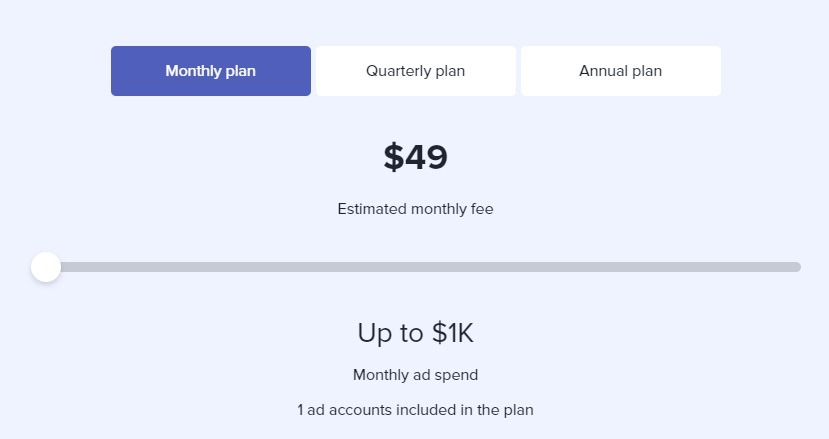 madgicx pricing options